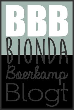 Bionda Boerkamp Blogt